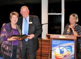 President Trish gave the Graham Fosbery Award to Carolyn