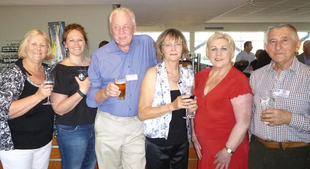 Helen, Bec, Ken, Suzanne, Rose and Nick